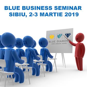 Training Blue Business Seminar Sibiu 2019