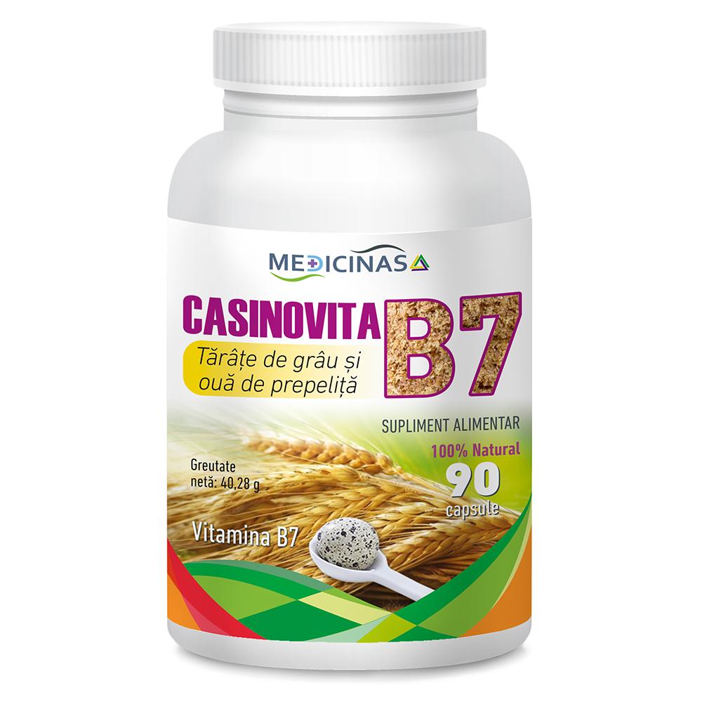 Casinovita B7 – Tărâțe de grâu și ouă de prepeliță